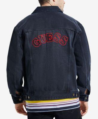 Guess Mens Oversized Denim Jacket