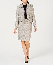 Kasper Tweed Jacket & Skirt