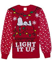Ugly Christmas Mens Sweaters Mens Cardigans Macys