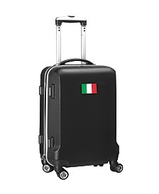 """Mojo Licensing 21"""" Carry-On Hardcase Spinner Luggage - Italy Flag"""