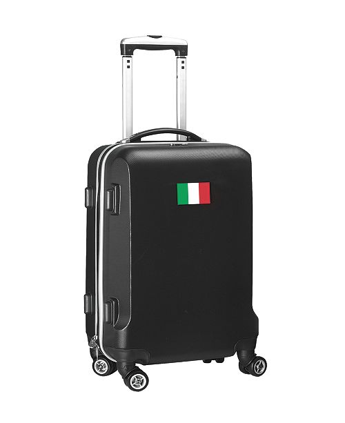 "Mojo Licensing 21"" Carry-On Hardcase Spinner Luggage - Italy Flag"