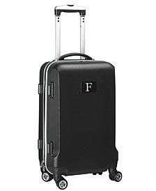 Luggage Carry-On 21-Inch Hardcase Spinner 100% Abs With Letter F