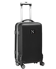 Luggage Carry-On 21-Inch Hardcase Spinner 100% Abs With Letter N