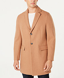 I.N.C. Men's Dublin Camel Topcoat, Created for Macy's