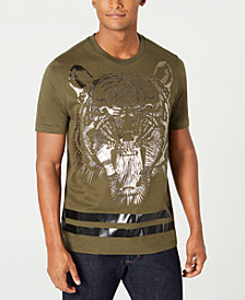 Sean John Men's Tiger Graphic T-Shirt