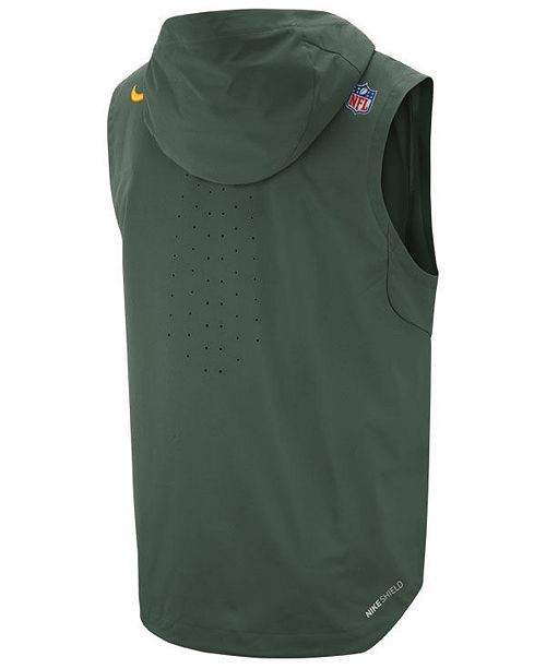 588dcf81 Nike Men's Green Bay Packers Shield Fly Rush Vest & Reviews - Sports ...