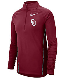 Nike Women's Oklahoma Sooners Element Half-Zip Pullover