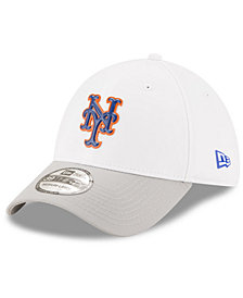New Era New York Mets White Batting Practice 39THIRTY Cap