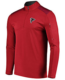 VF Licensed Sports Group Men's Atlanta Falcons Ultra Streak Half-Zip Pullover