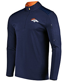 VF Licensed Sports Group Men's Denver Broncos Ultra Streak Half-Zip Pullover