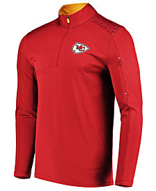 VF Licensed Sports Group Men's Kansas City Chiefs Ultra Streak Half-Zip Pullover