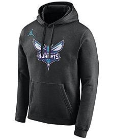 Nike Men's Charlotte Hornets Essential Logo Pullover Hoodie
