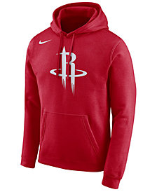 Nike Men's Houston Rockets Essential Logo Pullover Hoodie