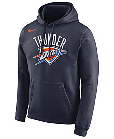 Nike Men's Oklahoma City Thunder Essential Logo Pullover Hoodie