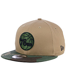 New Era Philadelphia 76ers Camo Tipping 9FIFTY Snapback Cap