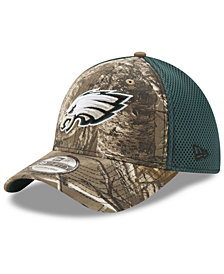New Era Philadelphia Eagles Realtree Camo Team Color Neo 39THIRTY Cap