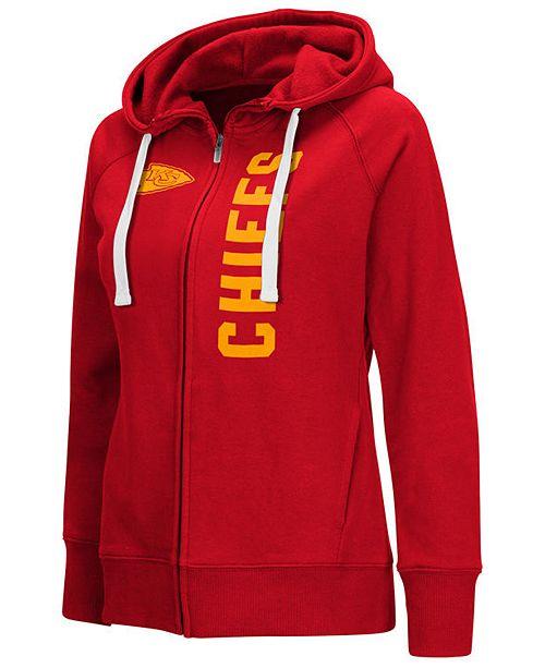 promo code 2611d 188f3 G-III Sports Women's Kansas City Chiefs 1st Down Hoodie ...
