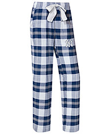 College Concepts Women's New York Yankees Headway Flannel Pajama Pants