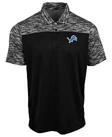 Authentic NFL Apparel Men's Detroit Lions Final Play Polo