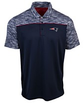 63ada2f2137 Authentic NFL Apparel Men s New England Patriots Final Play Polo