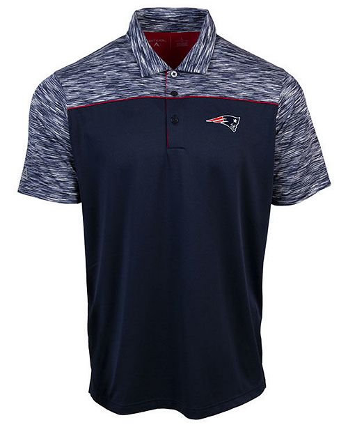 Authentic NFL Apparel Men's New England Patriots Final Play Polo