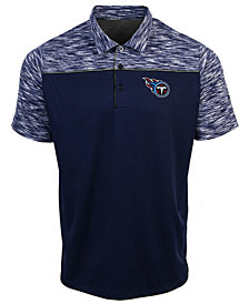 Authentic NFL Apparel Men's Tennessee Titans Final Play Polo