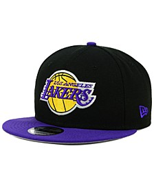 Los Angeles Lakers Basic 2 Tone 9FIFTY Snapback Cap