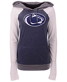 5th & Ocean Women's Penn State Nittany Lions Big Logo Raglan Hooded Sweatshirt