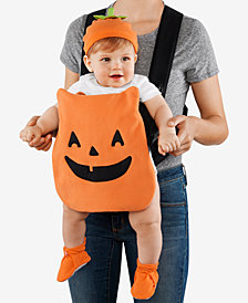 Carter's Baby Boys or Baby Girls 3-Pc. Jack-O-Lantern Carrier Costume