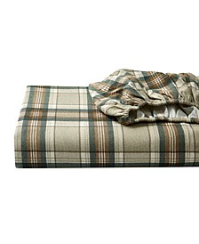 Full Plaid Flannel Sheet Set
