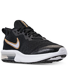 Nike Girls' Air Max Sequent 4 Reflective Running Sneakers from Finish Line