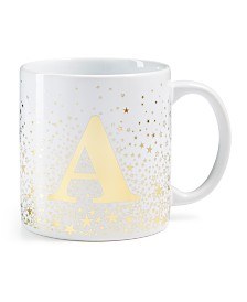 Tri-Coastal Design Ceramic Initial Jumbo Mug
