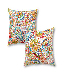 Set of 2 Outdoor Accent Pillows