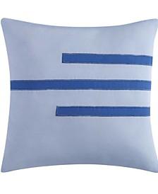 "Vince Camuto Nantucket 16"" Square Decorative Pillow"
