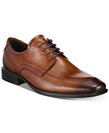 Ecco Men's Cairo Formal Tie Leather Oxfords