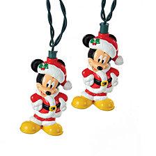 Kurt Adler Battery Operated 6 Light Mickey Mouse LED Light Set
