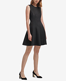DKNY Foundation Sleeveless Dress, Created for Macy's