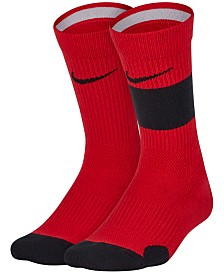 Nike Little Boys 2-Pk. Elite Crew Socks