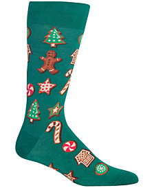 Hot Sox Men's Cookies Crew Socks