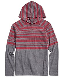 Ocean Current Big Boys Color-Stripe Hoodie