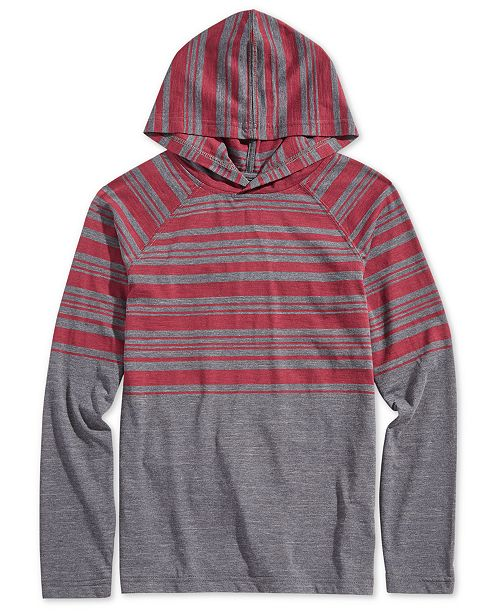 Univibe Ocean Current Big Boys Color-Stripe Hoodie