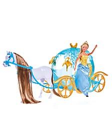 Simba Toys - Steffi Love Fairytale Pumpkin Carriage Playset