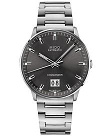 Men's Swiss Automatic Commander II BigDate Stainless Steel Bracelet Watch 42mm