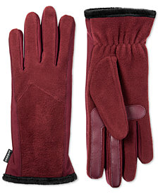 Isotoner Women's Fleece Touchscreen Gloves