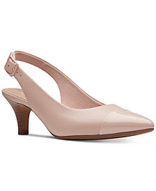 Clarks Collection Women's Linvale Emmy Pumps, Created for Macy's