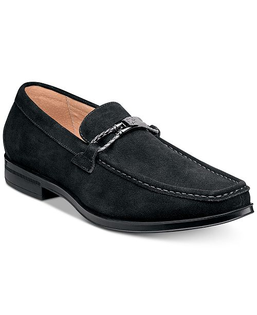 b9cce9cb0aa Stacy Adams Men s Neville Moc-Toe Slip-On Loafers   Reviews - All ...