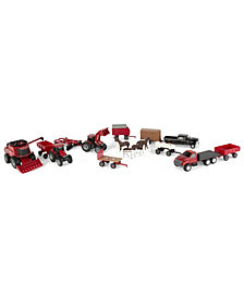 Ertl - Case Ih 164 Scale 20 Piece Vehicle Value Set