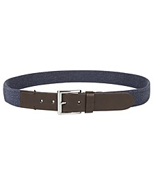 Men's Casual Stretch Belt, Created for Macy's