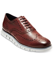 02ffa766061 Cole Haan Men s ZeroGrand Wingtip Oxfords