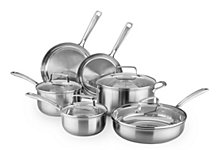 KitchenAid® Architect® Stainless Steel 10-Pc. Cookware Set